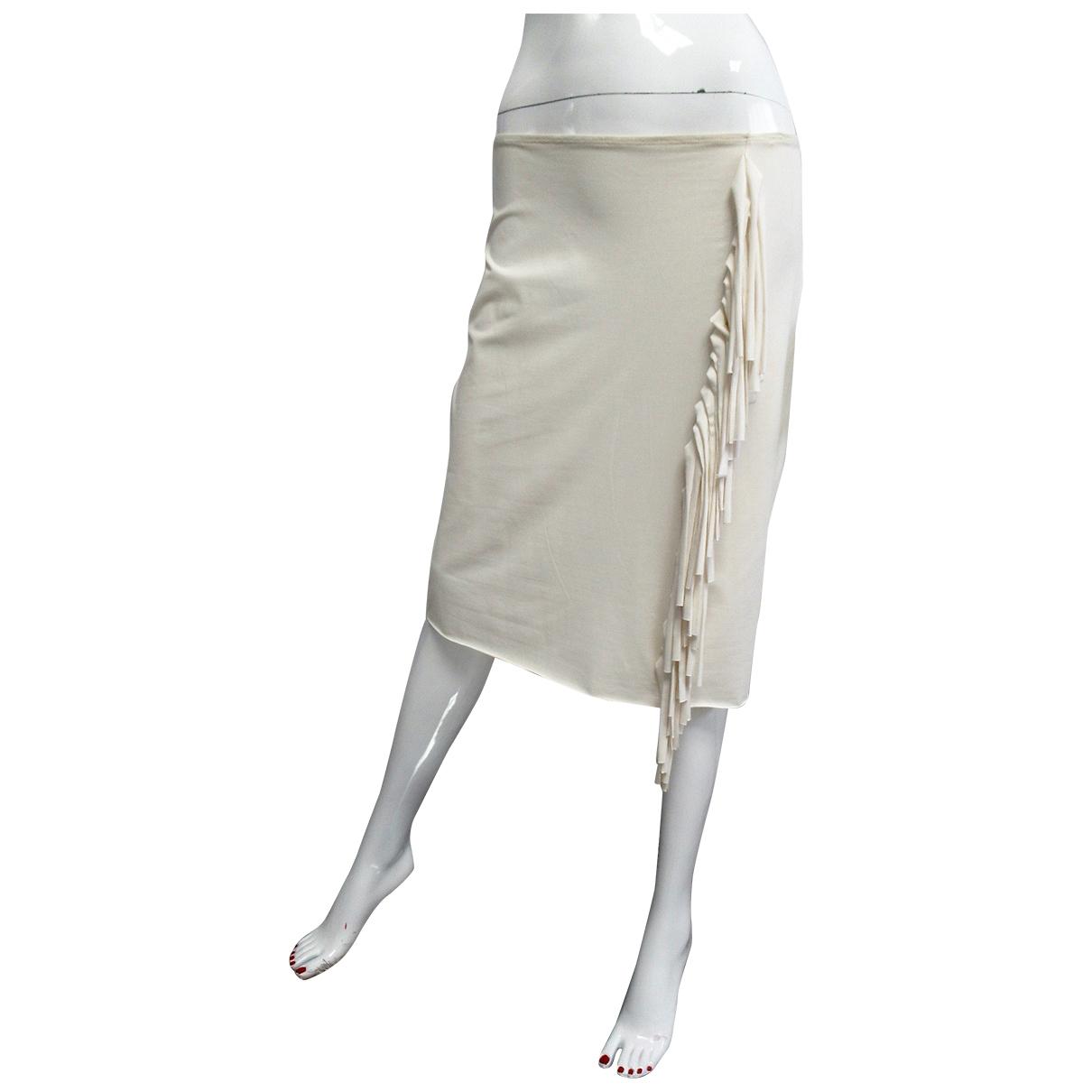 Moschino \N White skirt for Women 44 IT