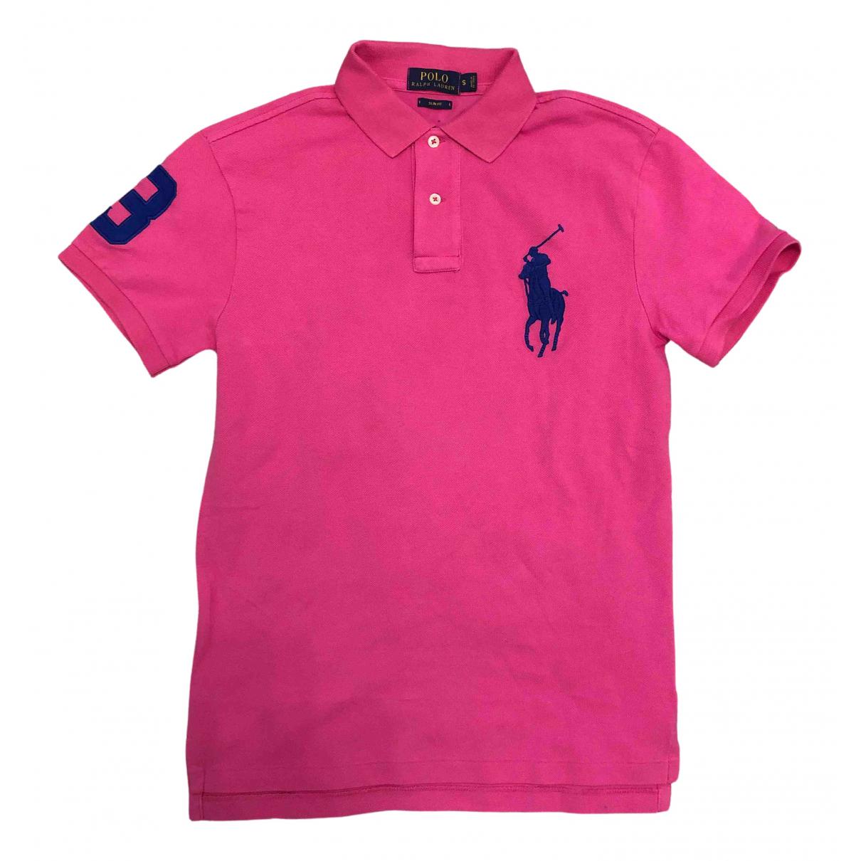 Polo Ralph Lauren - Polos   pour homme en coton - rose