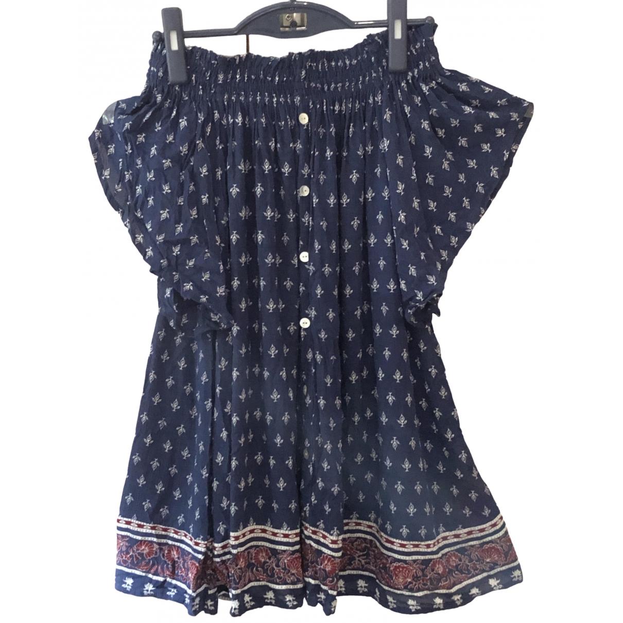 Faithfull The Brand - Robe   pour femme en coton - bleu