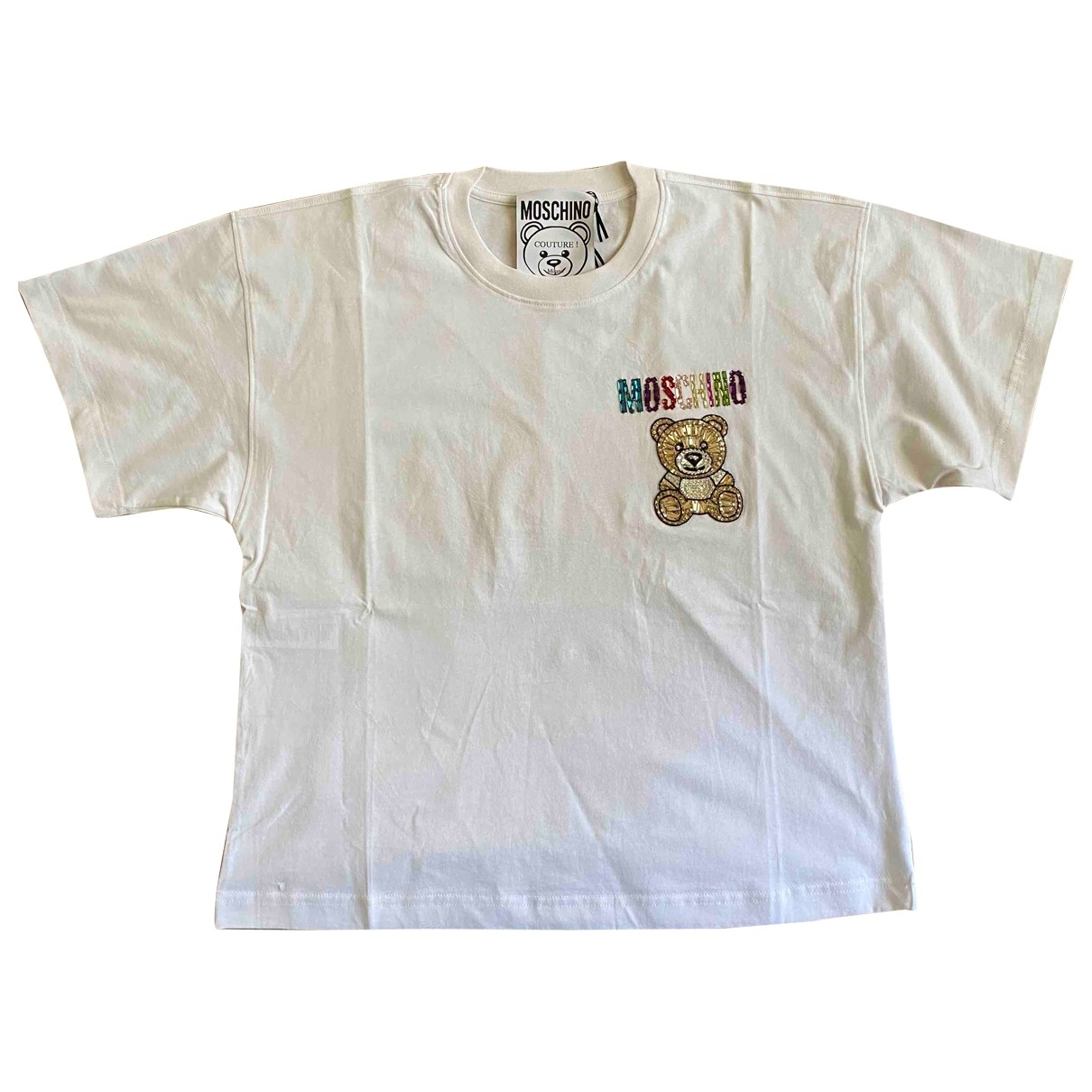 Moschino \N White Cotton  top for Women 40 IT