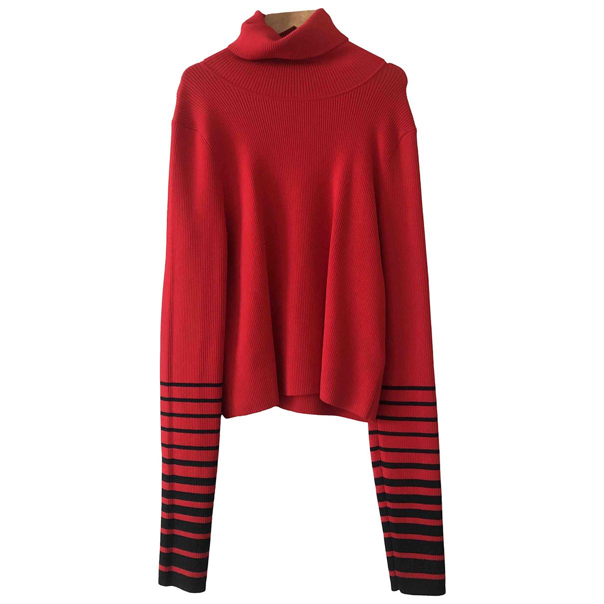 Tommy Hilfiger \N Pullover in  Rot Viskose