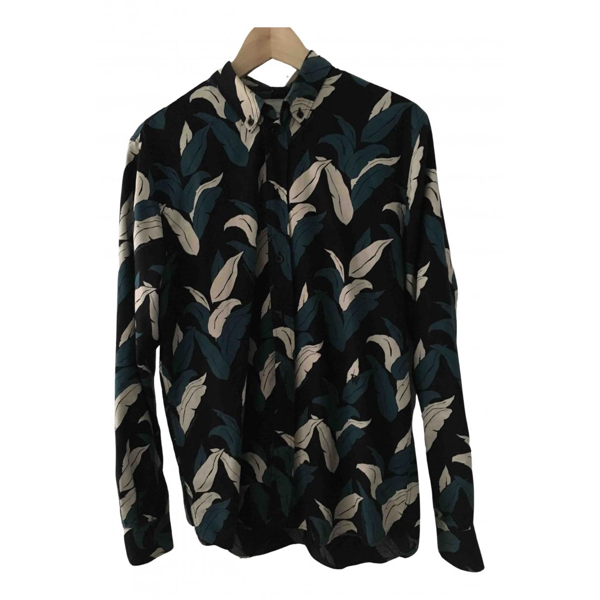 Wood Wood - Chemises   pour homme en coton - noir