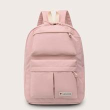 Pocket Front Knotted Detail Backpack