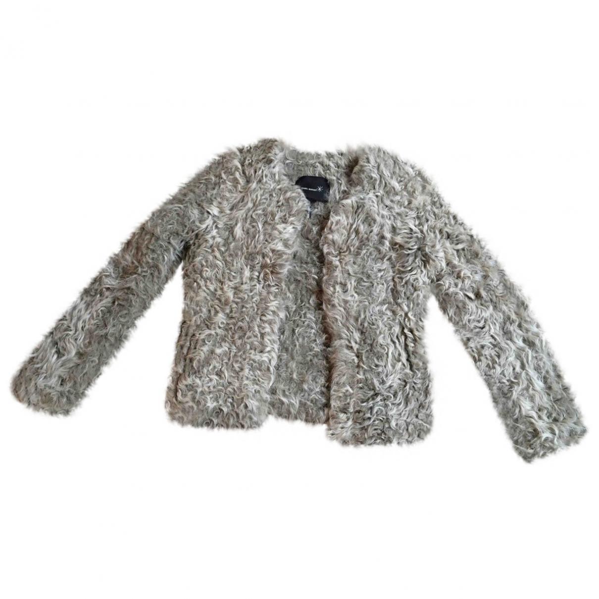 Isabel Marant \N Grey Mongolian Lamb jacket for Women 1 0-5