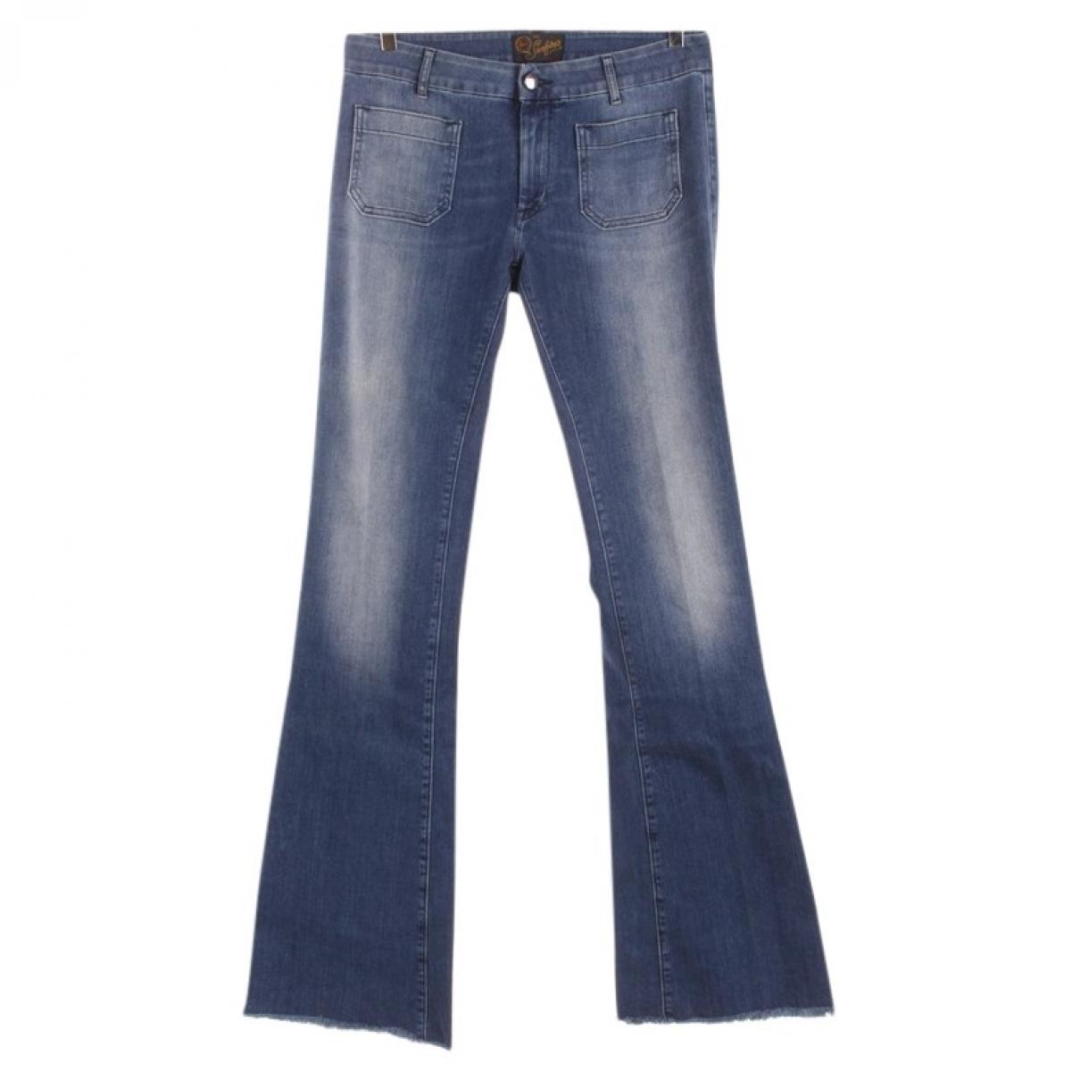 Seafarer \N Blue Cotton Jeans for Women 31 US