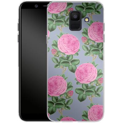 Samsung Galaxy A6 Silikon Handyhuelle - Pinky-Po von Zala Farah