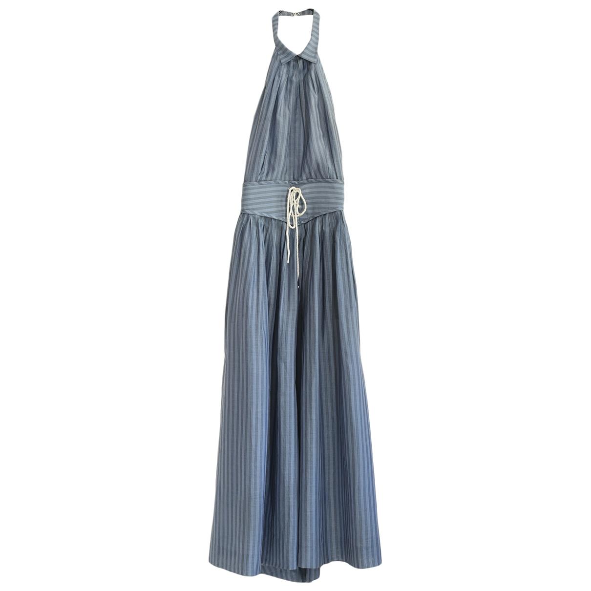 3.1 Phillip Lim \N Blue Silk dress for Women 4 US