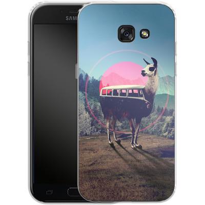 Samsung Galaxy A5 (2017) Silikon Handyhuelle - Llama von Ali Gulec