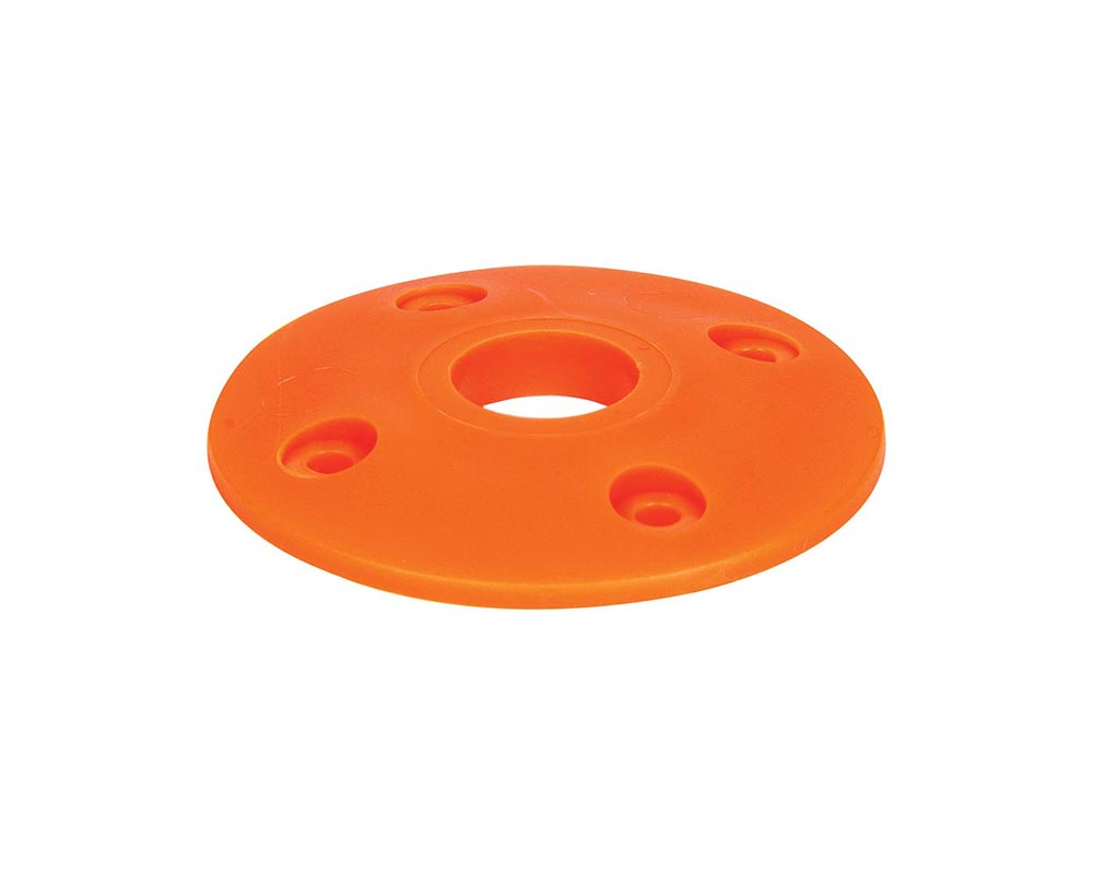 Allstar Performance ALL18439 Scuff Plate Plastic Fluorescent Orange 4pk ALL18439