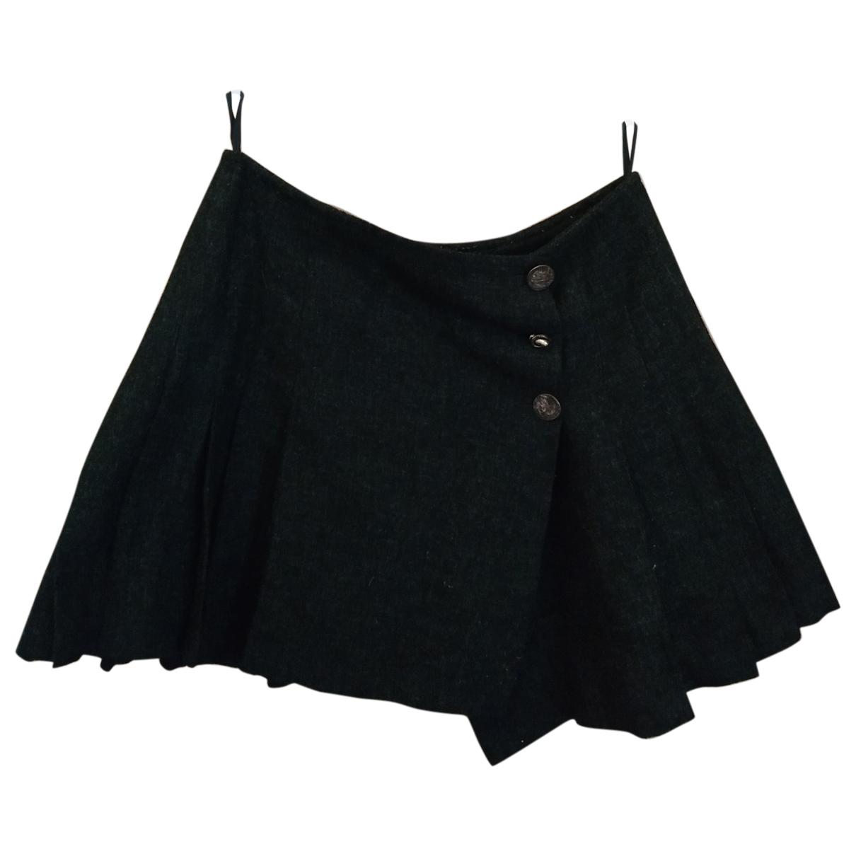 - Jupe   pour femme en laine - gris