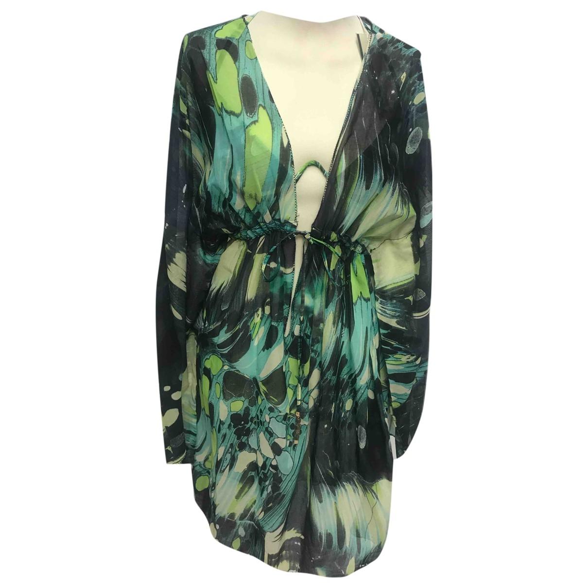 Roberto Cavalli \N Green Lycra Swimwear for Women 46 IT