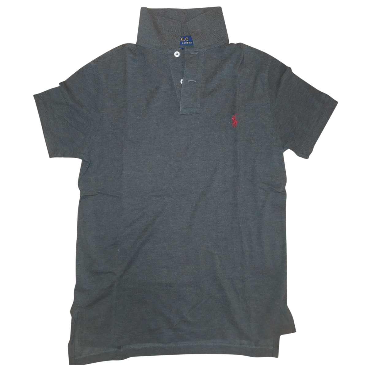 Polo Ralph Lauren \N Grey Cotton Polo shirts for Men S International