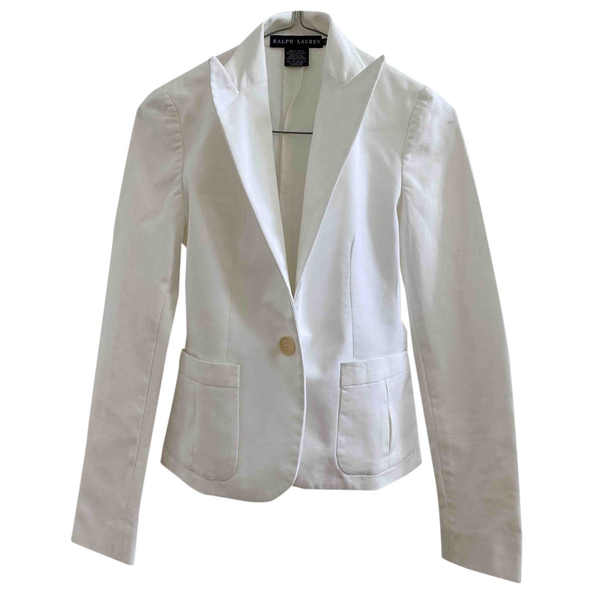 Ralph Lauren \N White Cotton jacket for Women 2 US