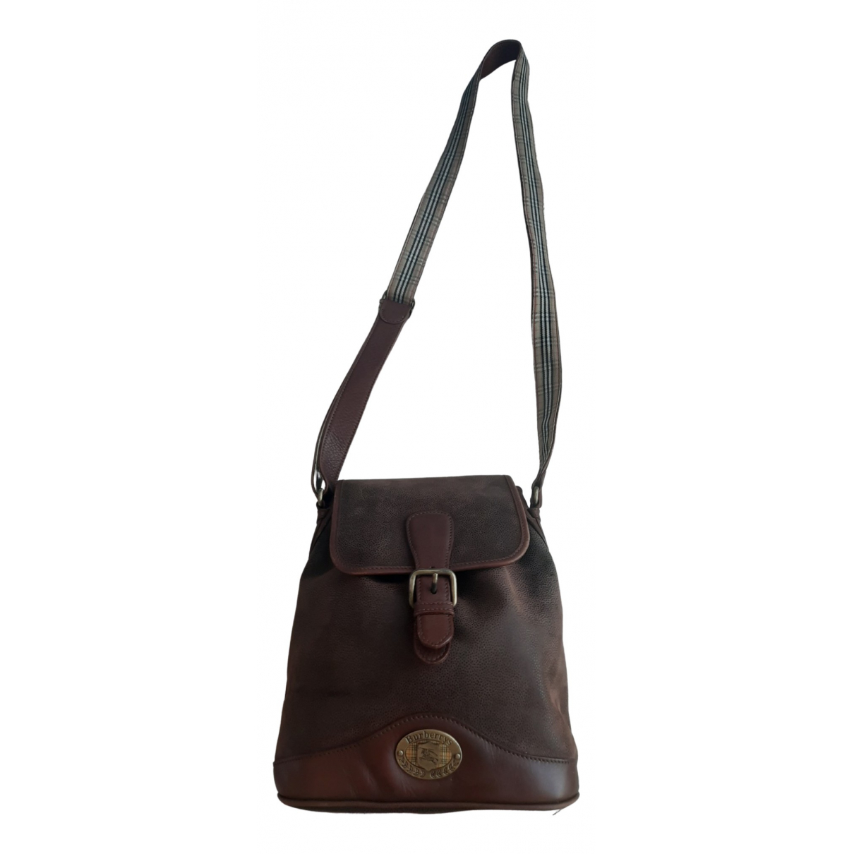 Burberry \N Brown Leather handbag for Women \N