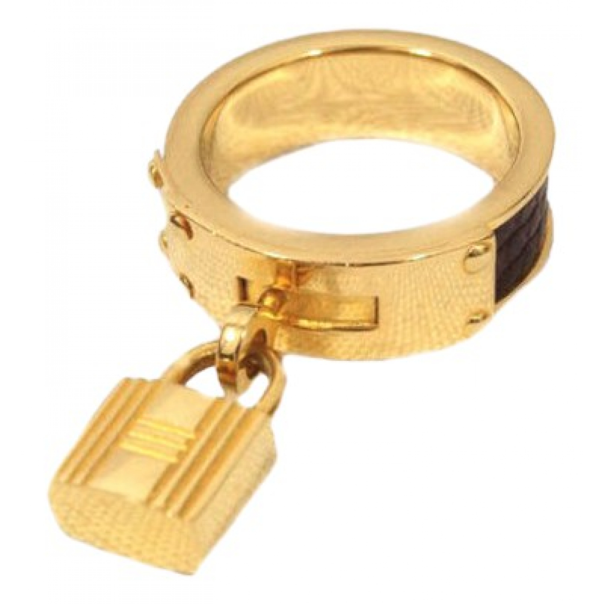 Hermes \N Ring in  Gold Metall