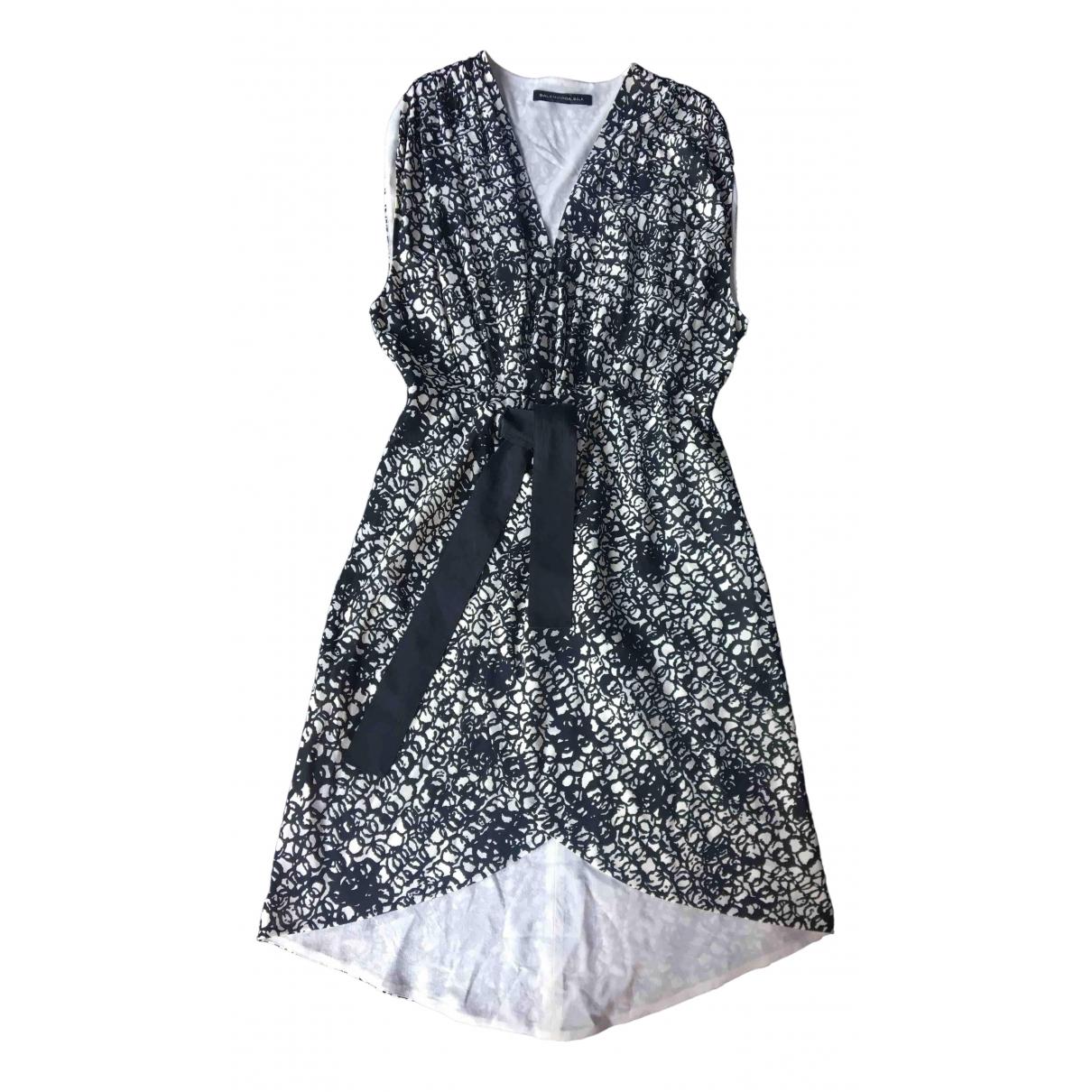 Balenciaga - Robe   pour femme en soie - multicolore