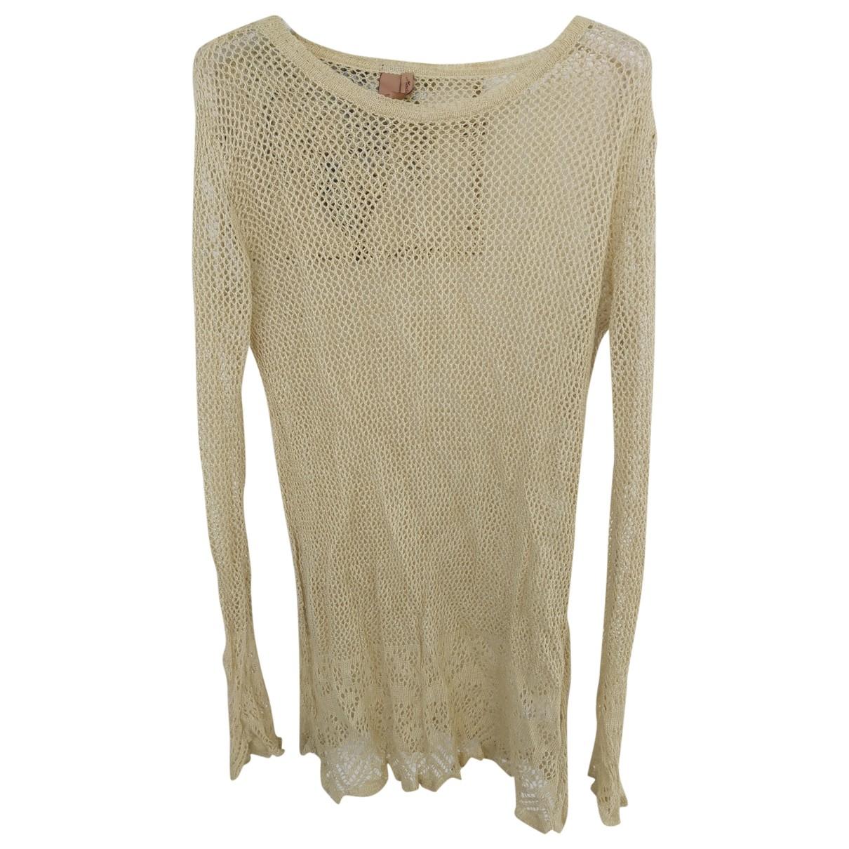 Romeo Gigli - Robe   pour femme en lin - blanc
