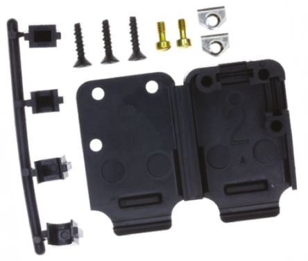 TE Connectivity , HD-20 Thermoplastic Right Angle, Straight D-sub Connector Backshell, 15 Way