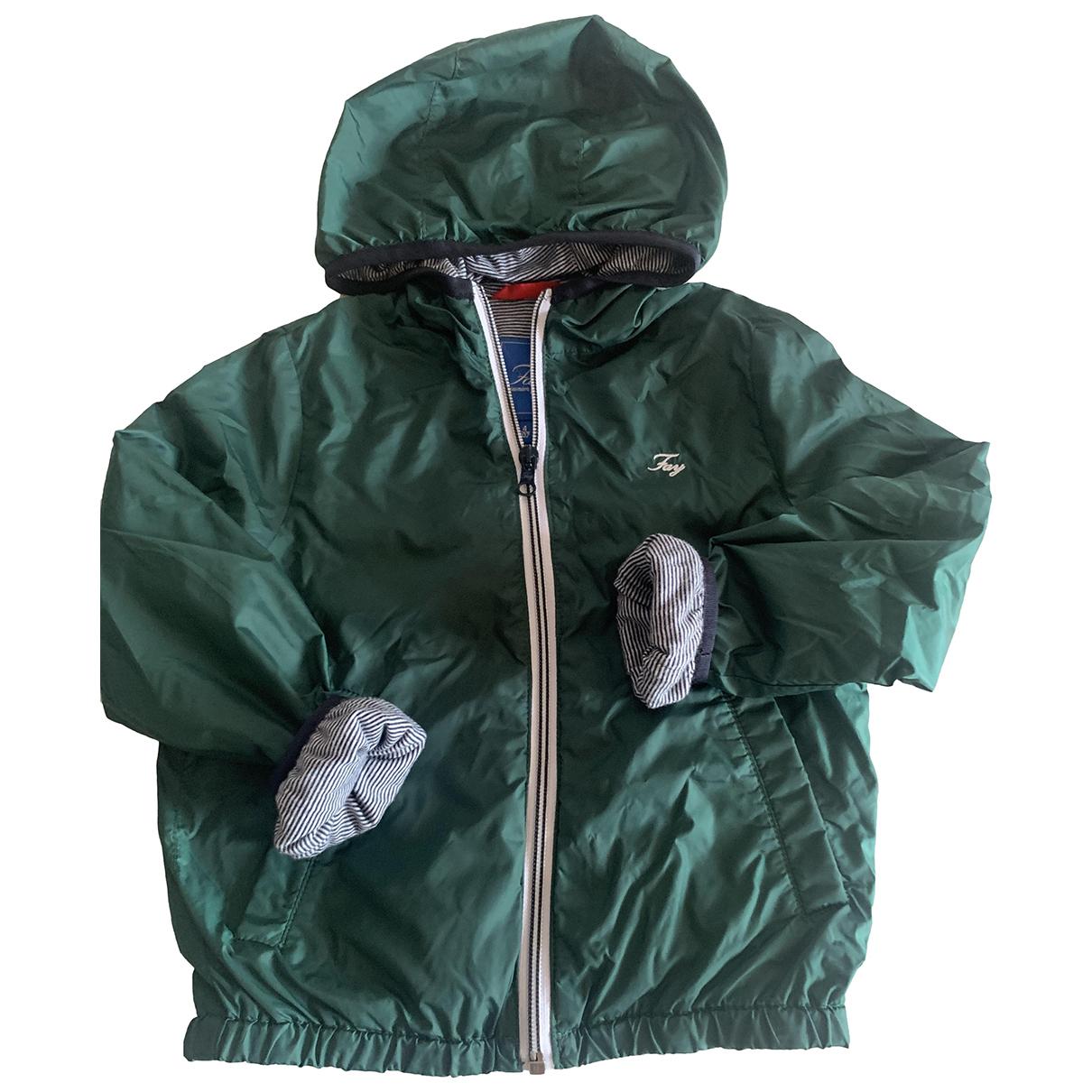 Abrigo, Chaqueta en Sintetico Verde Fay