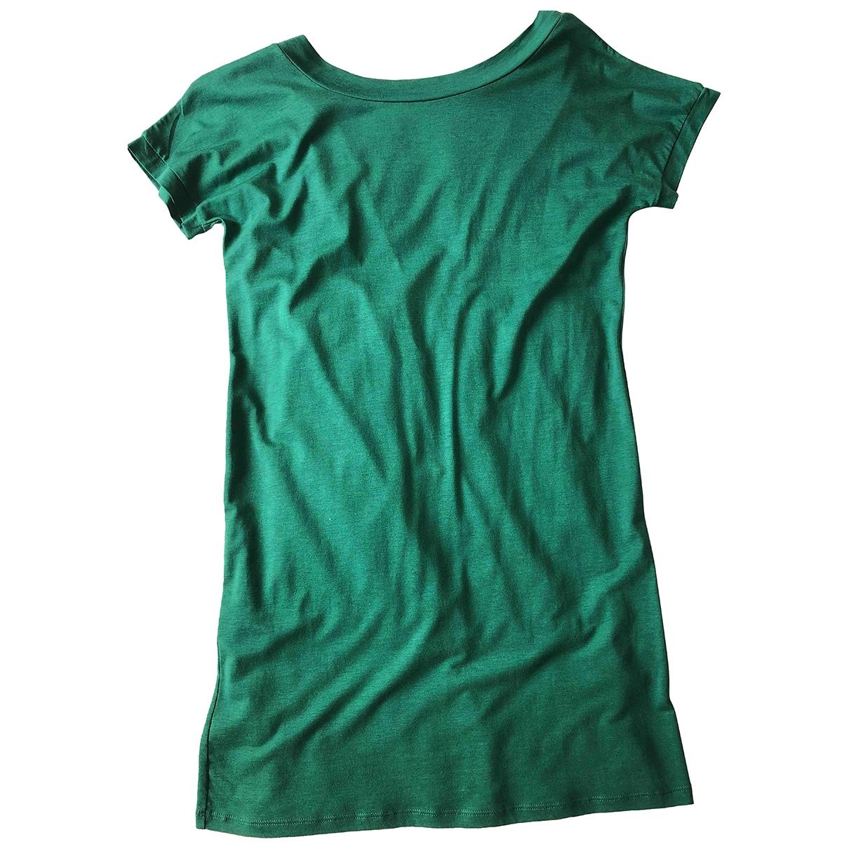 Sessun \N Green Cotton - elasthane dress for Women S International