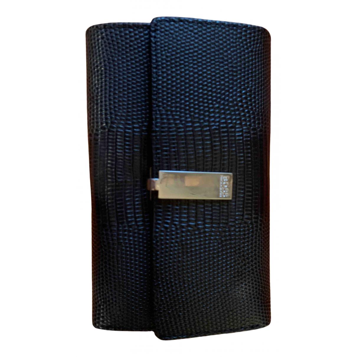 Boss N Black Leather wallet for Women N