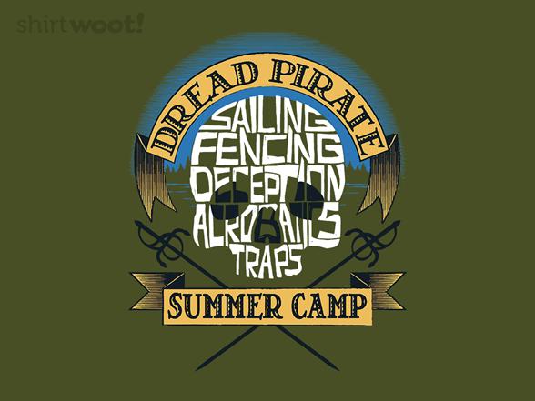 Dread Pirate Camp T Shirt