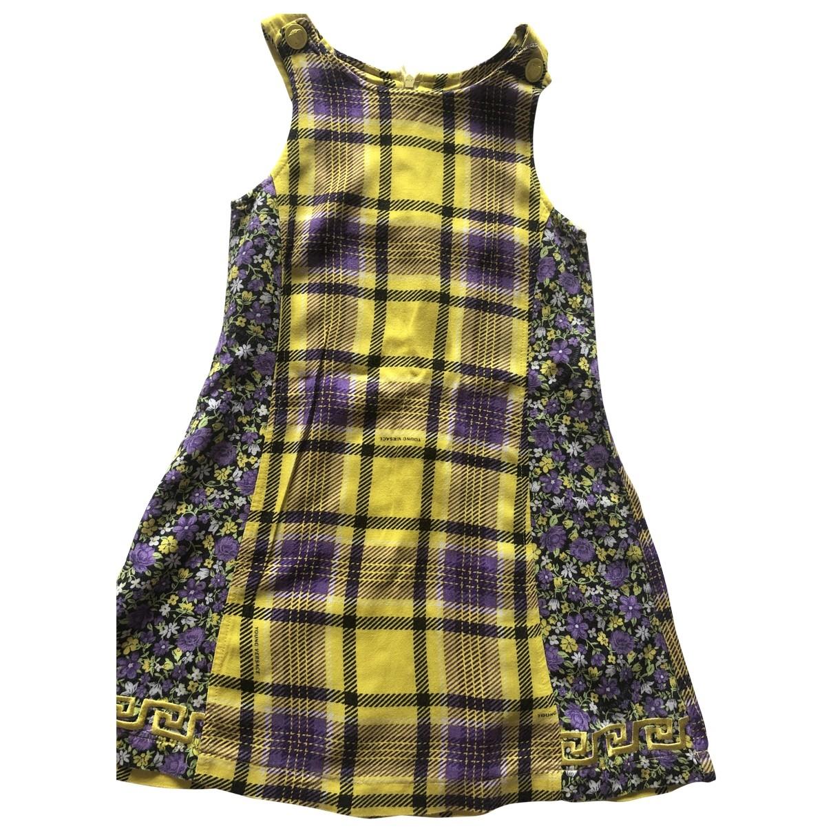Versace - Robe    pour enfant - jaune