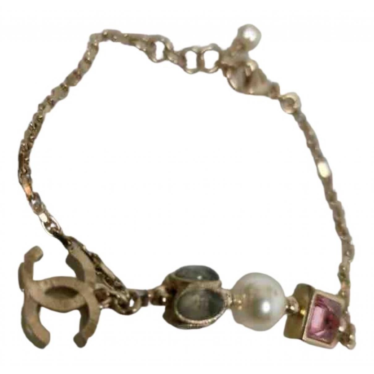 Chanel N Multicolour Metal bracelet for Women N