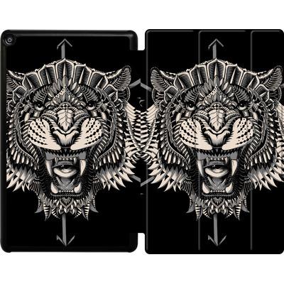 Amazon Fire HD 10 (2018) Tablet Smart Case - Eye Of The Tiger von BIOWORKZ