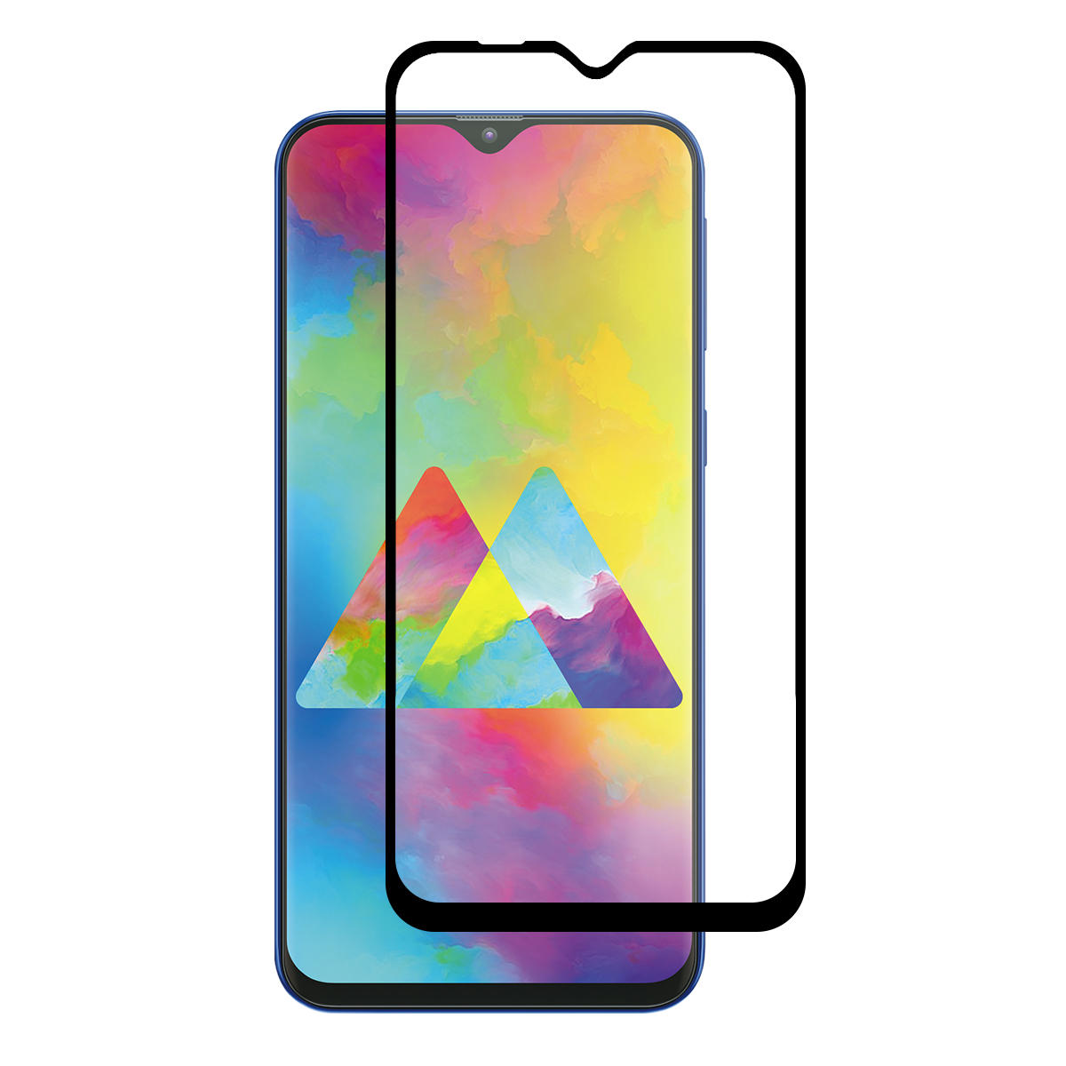 Enkay 2.5D Curved Edge Full Glue Tempered Glass Screen Protector For Samsung Galaxy M10 2019