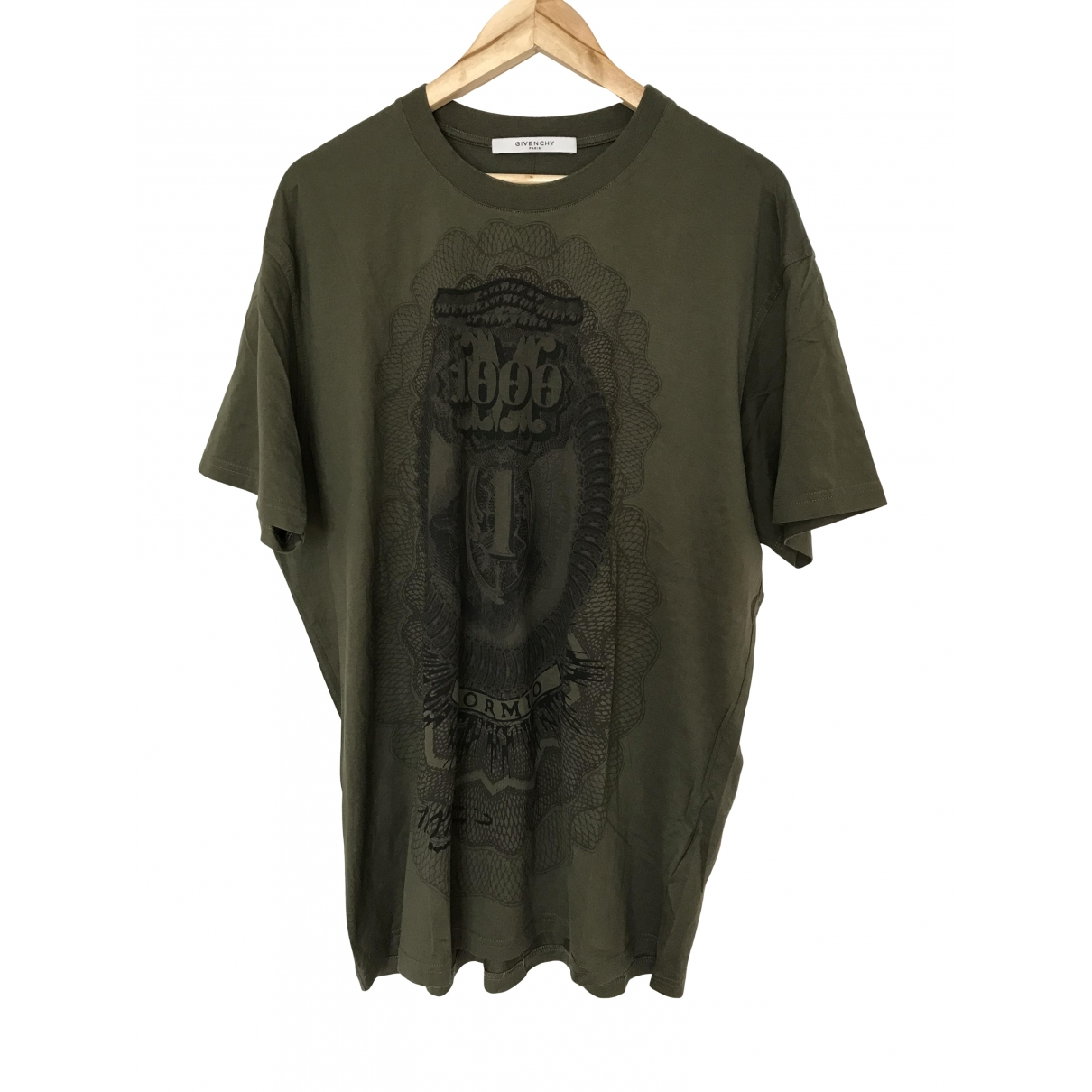 Givenchy \N Khaki Cotton T-shirts for Men L International