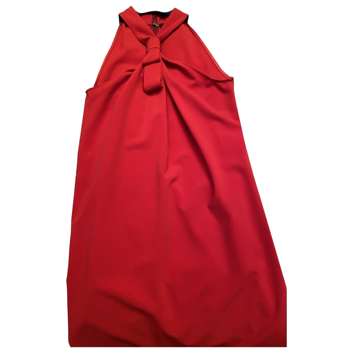 Moschino Love \N Kleid in  Rot Synthetik