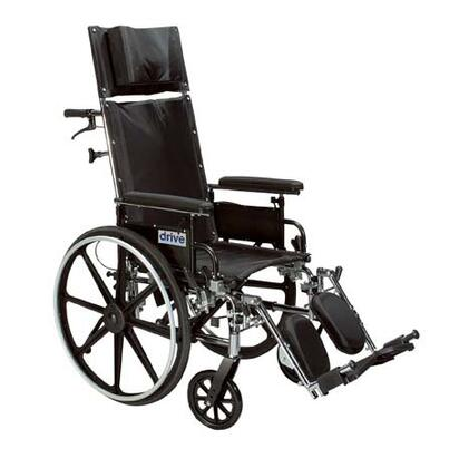 pl412rbdda Viper Plus Light Weight Reclining Wheelchair With Elevating Leg Rests And Flip Back Detachable Arms  12