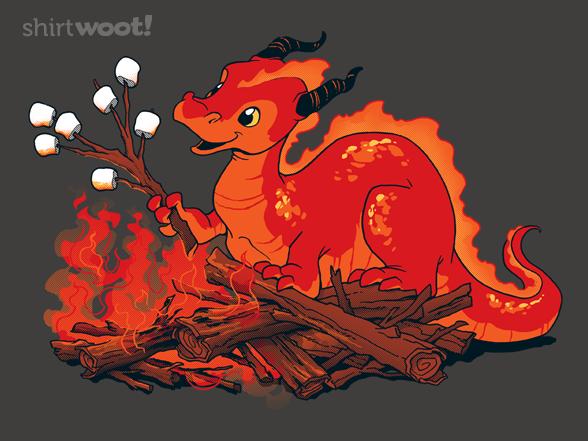 Smore The Dragon T Shirt