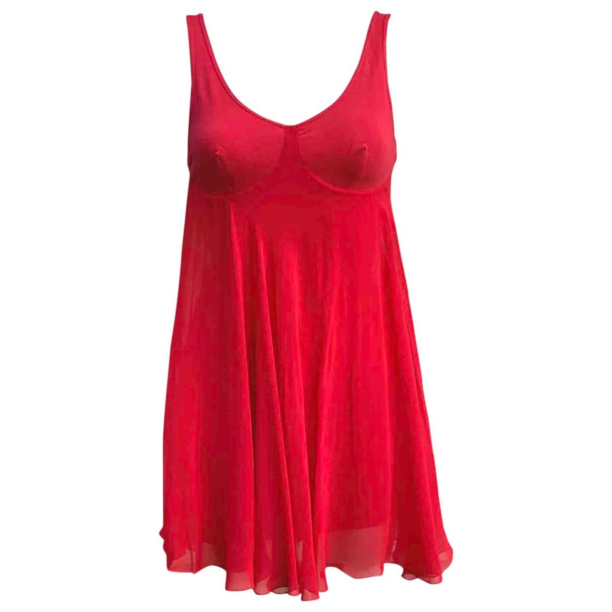 Versace Jeans \N Kleid in  Rot Viskose