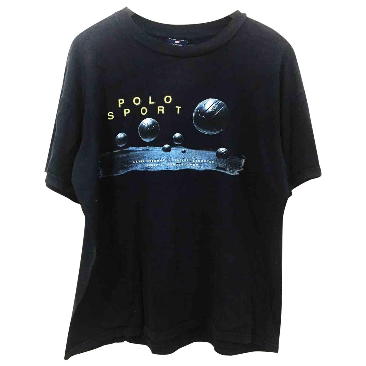 Polo Ralph Lauren \N T-Shirts in  Schwarz Baumwolle