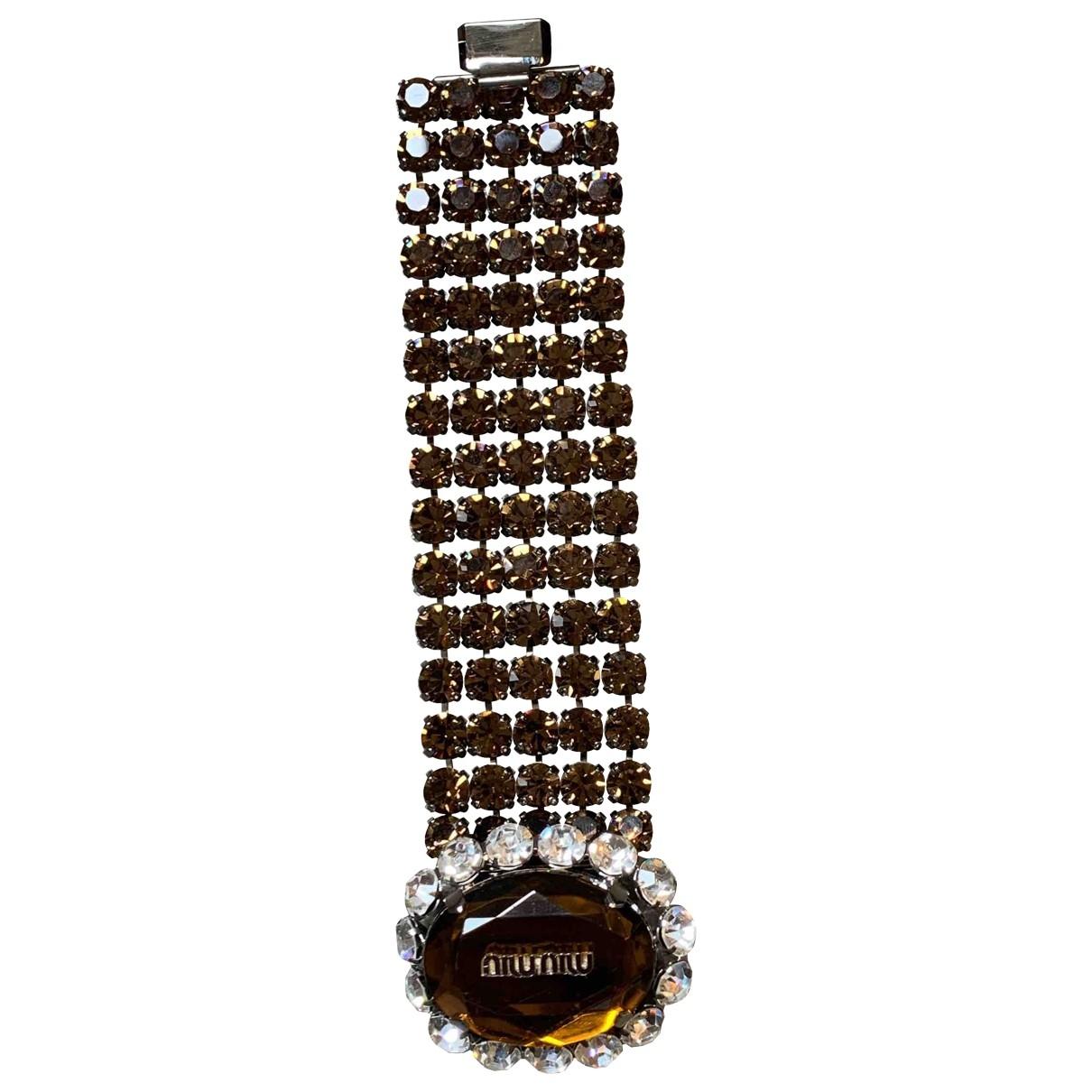 Miu Miu - Bracelet   pour femme en metal