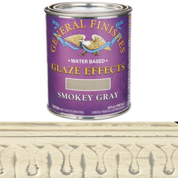 Smokey Gray Glaze Water Based  Pint