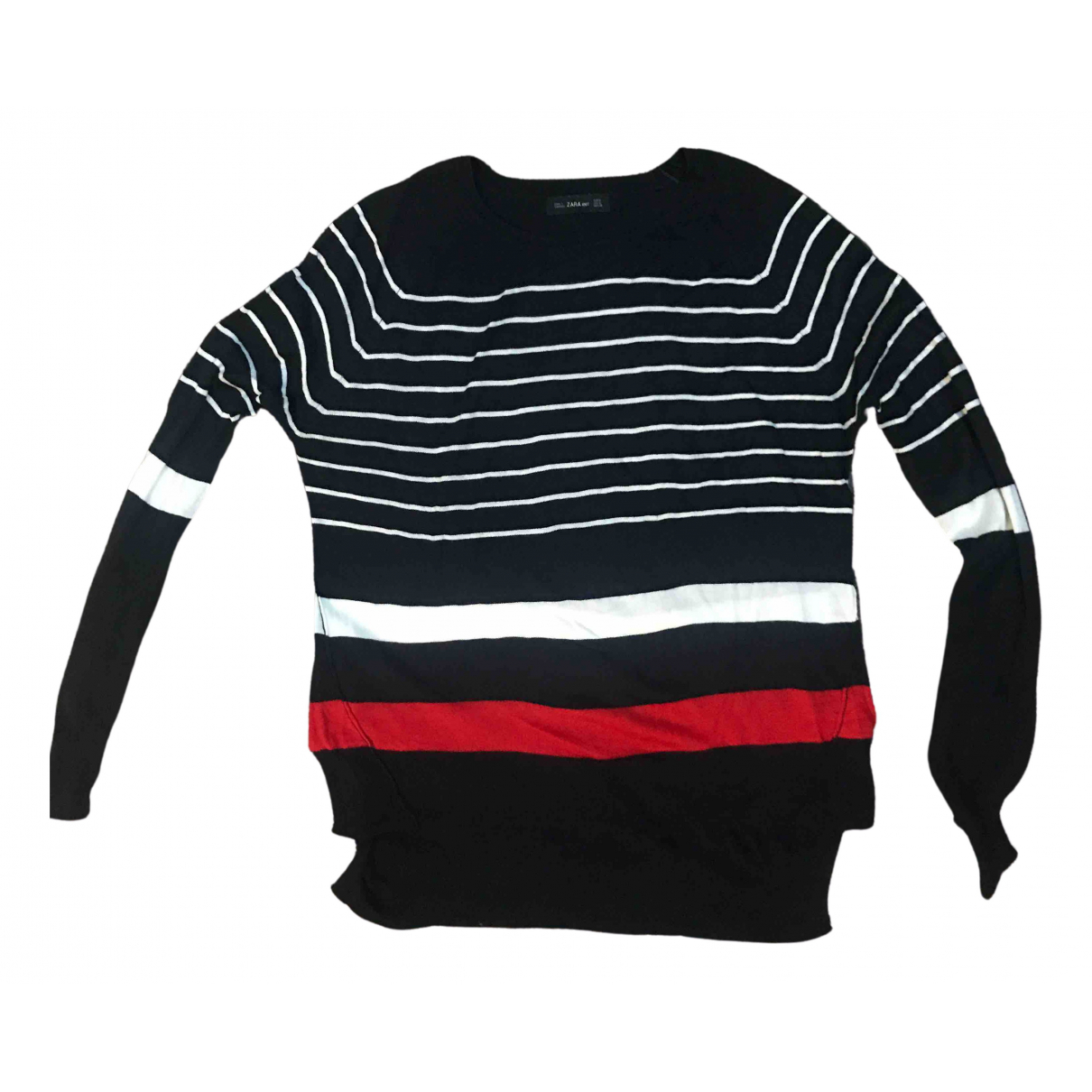 Zara \N Blue Cotton Knitwear for Women M International