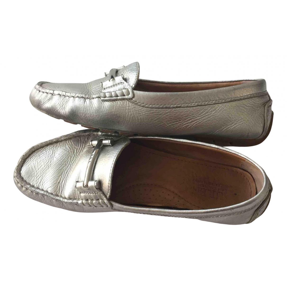 Lauren Ralph Lauren \N Mokassins in  Silber Leder