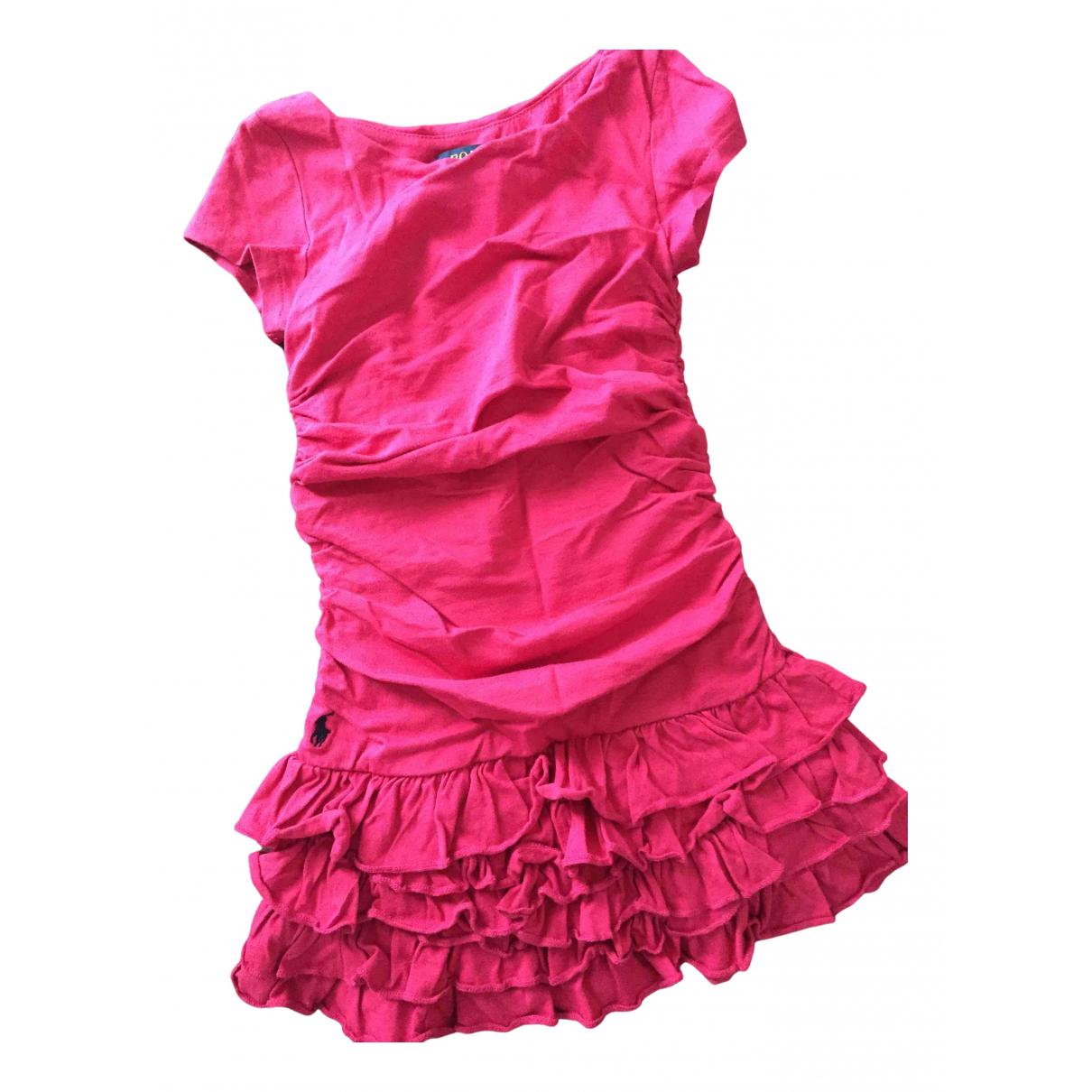 Polo Ralph Lauren - Robe    pour enfant en coton