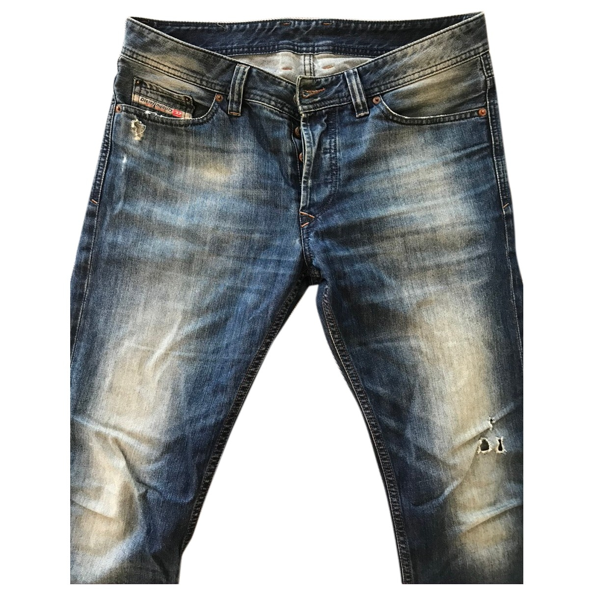 Diesel \N Blue Cotton Jeans for Men 31 US
