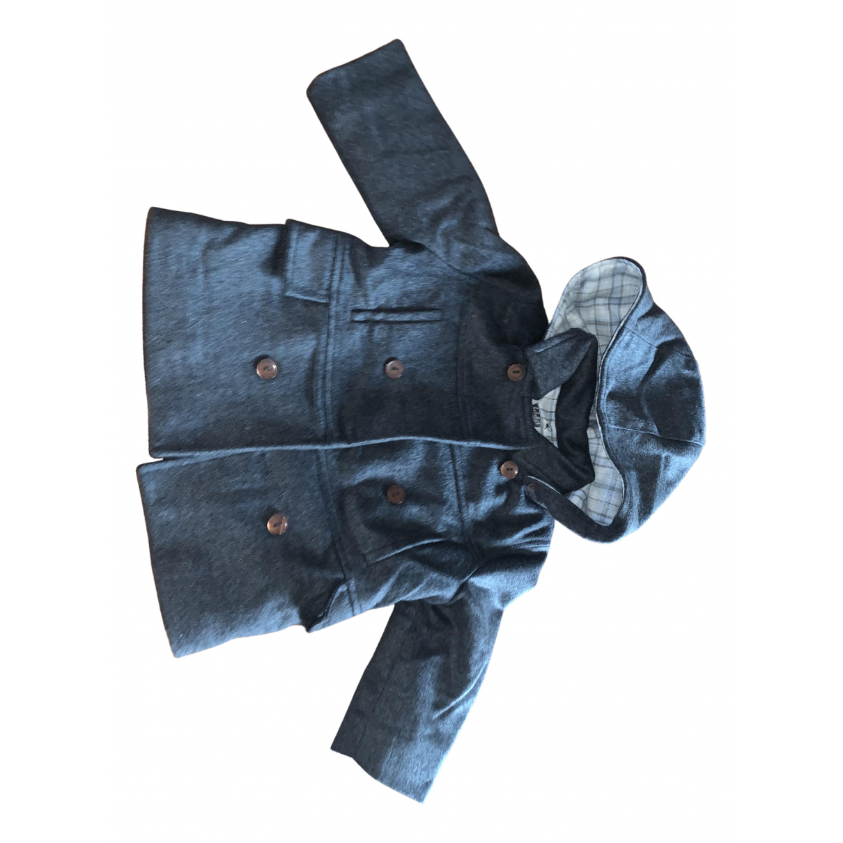 Le Bebe N Grey Wool jacket & coat for Kids 18 months - up to 81cm FR