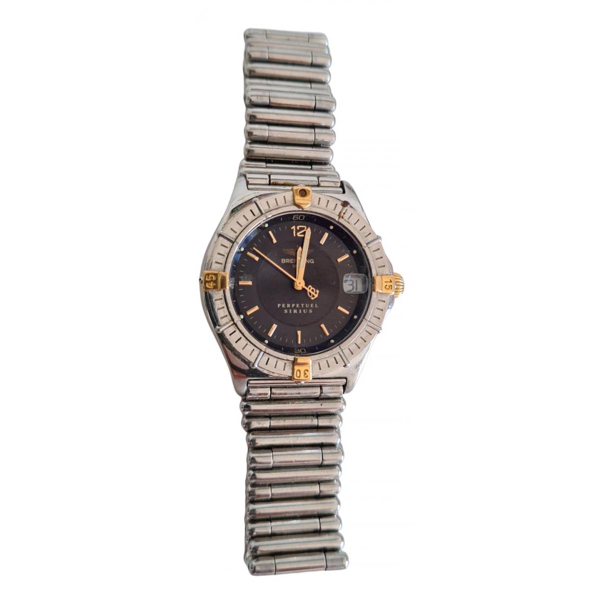 Breitling \N Silver Steel watch for Women \N