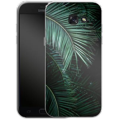 Samsung Galaxy A5 (2017) Silikon Handyhuelle - Palm Leaves 9 von Mareike Bohmer