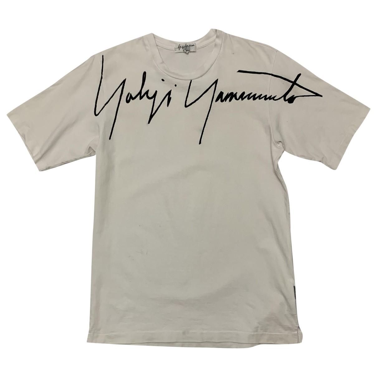 Yohji Yamamoto \N White Cotton T-shirts for Men 3 0 - 6