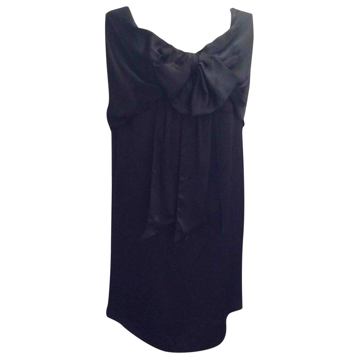 Jean Paul Gaultier \N Kleid in  Schwarz Synthetik