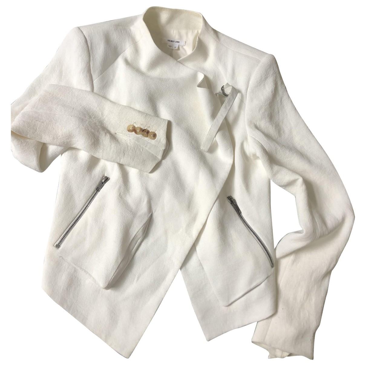 Helmut Lang \N White jacket for Women M International