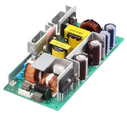 Cosel , 300W Embedded Switch Mode Power Supply (SMPS), 24V dc, Open Frame, Medical Approved