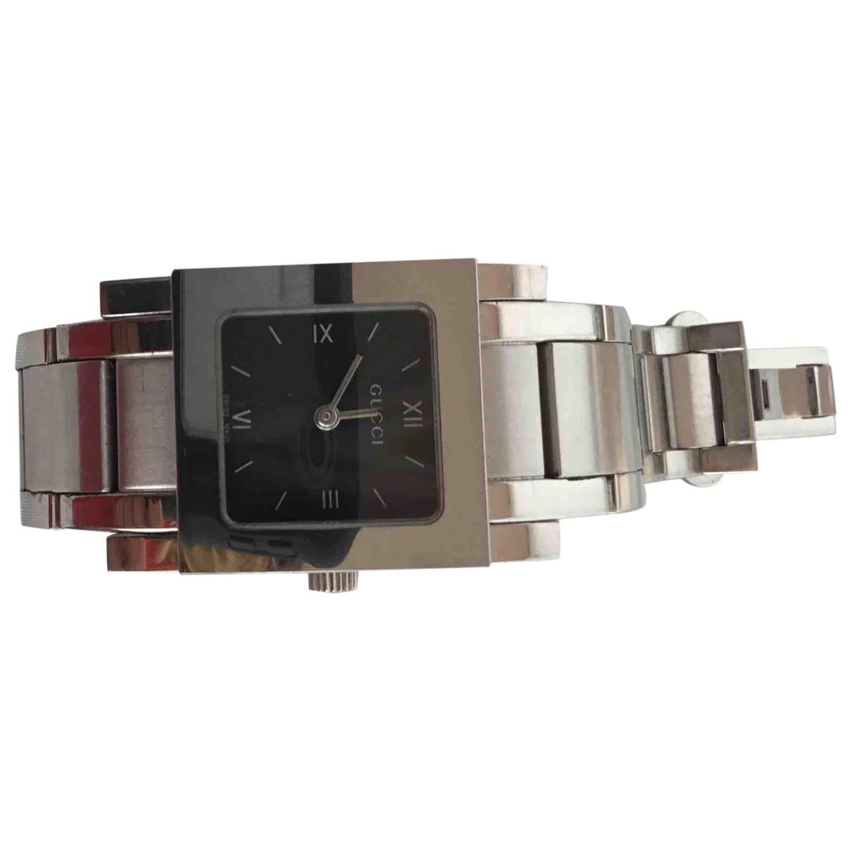 Gucci \N Silver Steel watch for Women \N